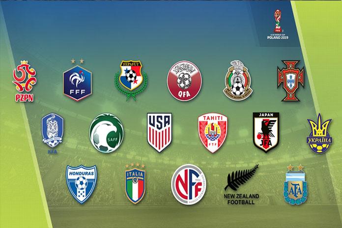 Clasificados Al Mundial Sub 20: Los Clasificados Al Mundial De Polonia Sub 20