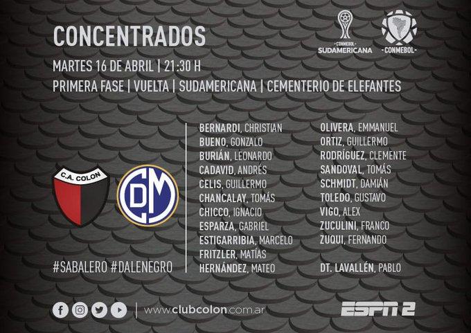 Copa Sudamericana: el estadio de Colón está espléndido para la noche
